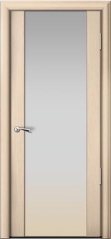 Porta Unica Сити 3 - стекло Белое, <br>цвет - Выбеленные Дуб