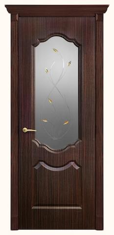 Анастасия - со стеклом, <br>цвет - венге