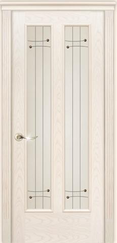 Гранд - стекло Соло, <br>цвет - ясень белый