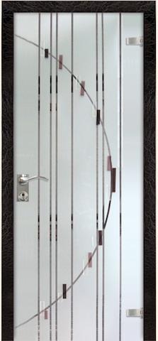 Рандеву - триплекс зеркало Рандеву, <br>цвет - кроколет бордо
