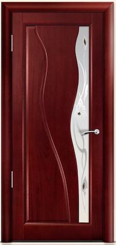 Ирен - со стеклом Ирен, <br>цвет - красное дерево
