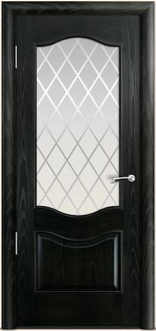 Марсель - стекло Готика, <br>цвет - ясень винтаж