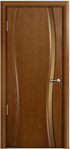 Omega 1 - бронзовое узкое стекло, <br>цвет - по шпону