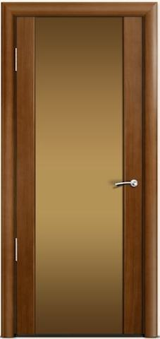 Omega 2 - стекло бронзовое широкое, <br>цвет - по шпону