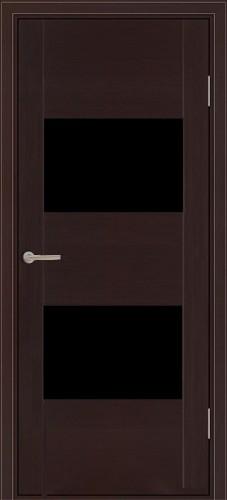 Парма - с черным стеклом триплекс, венге