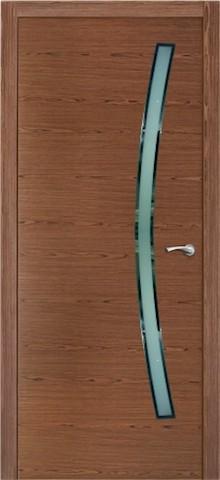 Порто - со стеклом, <br>цвет - орех