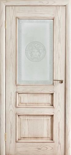 Двери Оникс Версаль - остекленное, патина