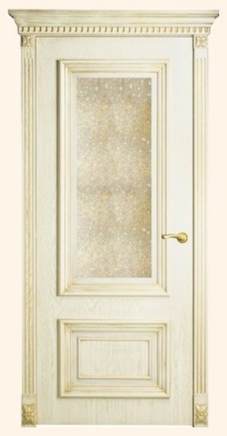 Мадрид - с состаренным зеркалом, <br>цвет - золотая патина