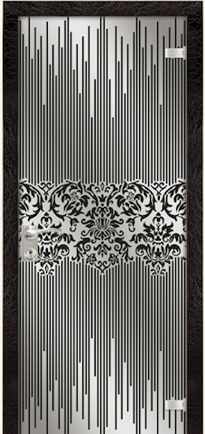 Жаклин - триплекс-зеркало Жаклин, <br>цвет - карколет бордо