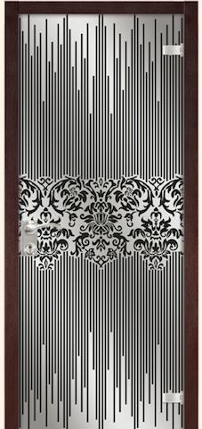 Жаклин - триплекс-зеркало Жаклин, <br>цвет - венге