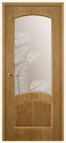 Ривьера - стекло Пальма, дуб