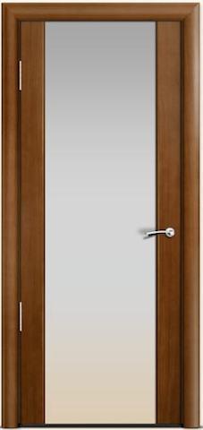 Omega 2 - стекло белое широкое, <br>цвет - по шпону