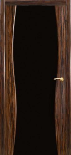 Грация - с черным стеклом триплекс, эбен