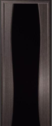 Грация - с черным стеклом триплекс, абрикос