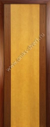 Комби - глухая, красное дерево/анегри