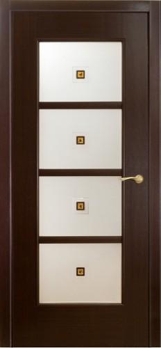 Двери Модерн Оникс - под остекление, венге
