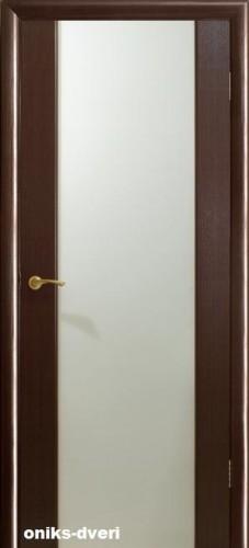 Двери Оникс Престиж - со стеклом триплекс (матовое), <br>цвет - венге