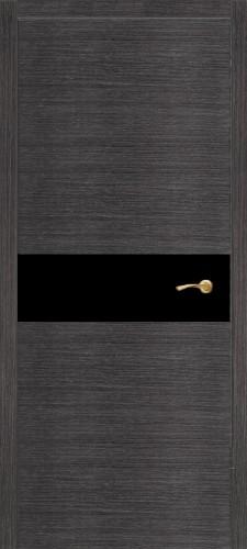 Соло - со стеклом, серый дуб