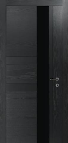 Porta Unica E1 - со стеклом матовым, <br>цвет - граффит