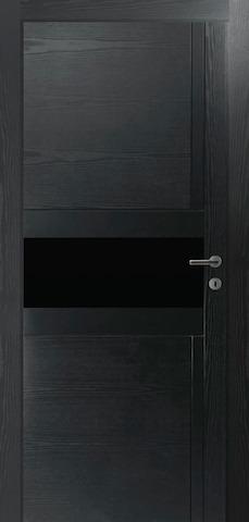 Porta Unica E2 - со стеклом матовым, <br>цвет - граффит